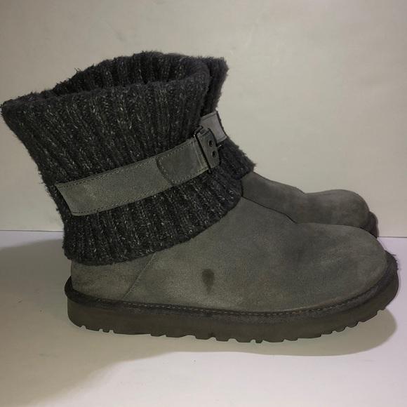 657bdba905d Ugg Australia Cambridge Gray Boots 1006013 SZ.10
